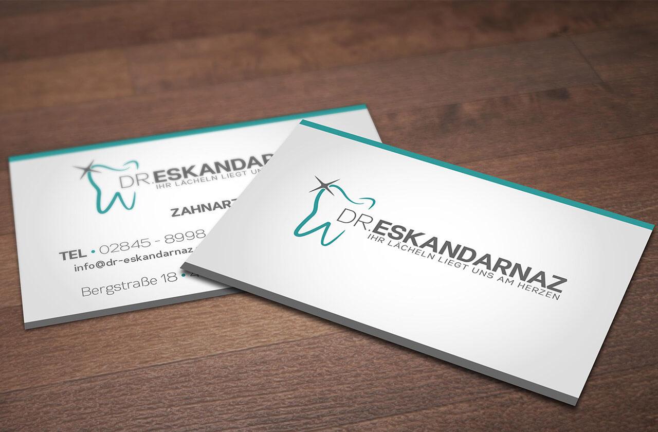 Corporate Design für Dr.Eskandarnaz