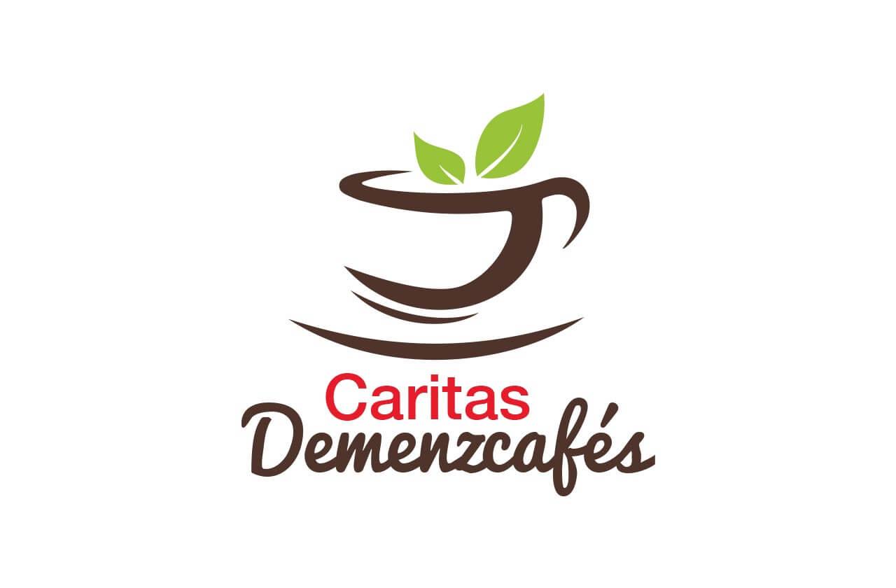 Werbeagentur Neuss: Logo und Flyer für die Caritas Demenzcafés